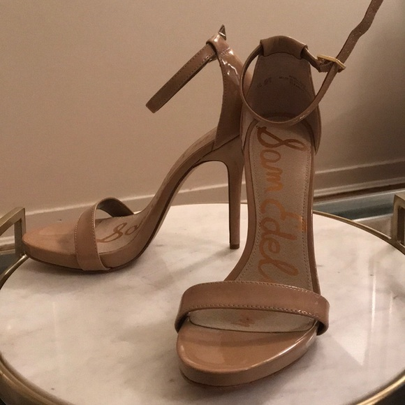 7b961c51b267 Sam Edelman Ariella Ankle Strap Sandal 7.5 Nude. M 5a6d24ea84b5ce8b8d115988